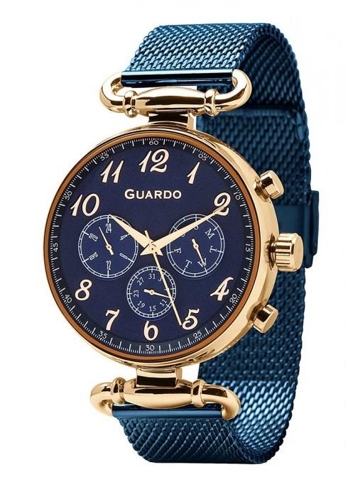 Мужские наручные часы Guardo P11221(m) RgBlBl
