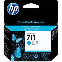 Картридж HP 711 для DJ 120/520 Cyan, 28 мл (CZ130A)
