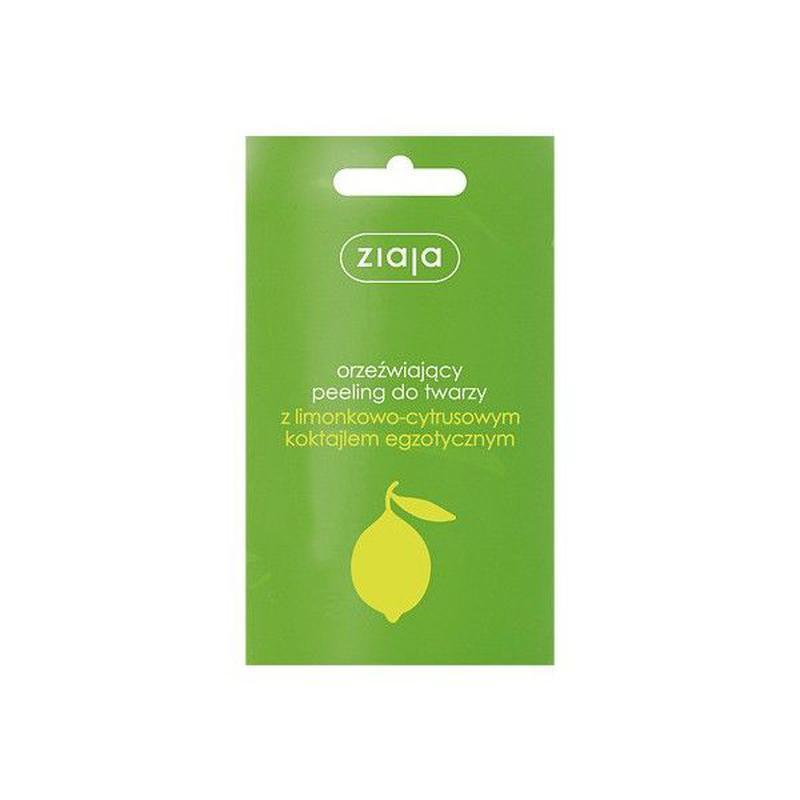 Ziaja Пилинг для лица и тела с лимонно-цитрусовым коктейлем