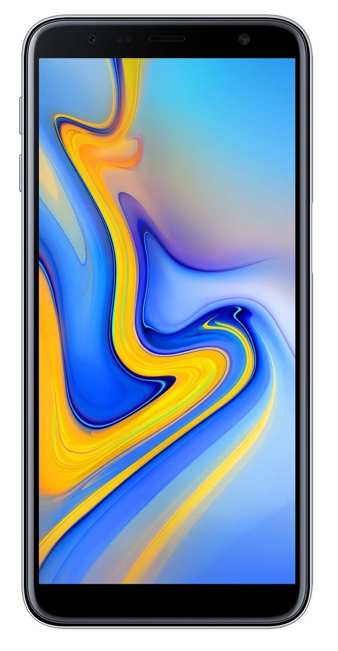 Сенсорный мобильный телефон Samsung Galaxy j610 J6 Plus 3/32 GB 2018 Gray
