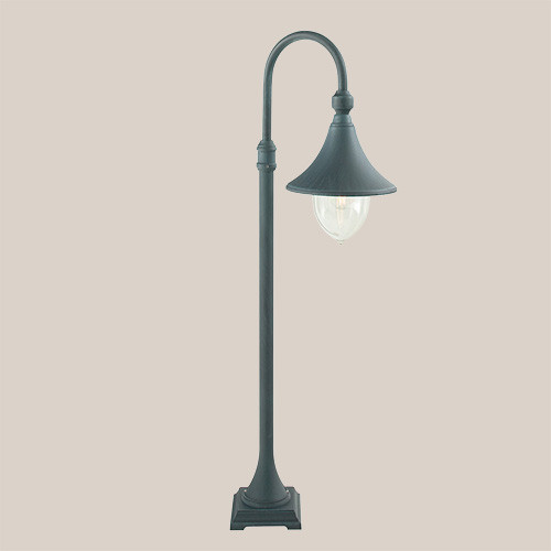 Уличный фонарь Norlys Firenze 805BG 1х57Вт E27 прозрачный/металл