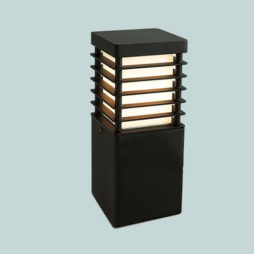 Уличный фонарь Norlys Halmstad 210В 1х46Вт E27 черный/метал