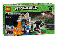 """Конструктор Bela 10174 """"Пещера"""" Майнкрафт, 251 деталей. Аналог Lego Minecraft 21113, фото 1"""