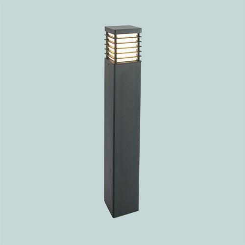 Уличный фонарь Norlys Halmstad 296В 1х46Вт E27 черный/метал