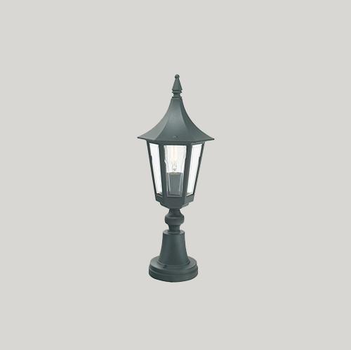 Уличный фонарь Norlys Rimini 250В 1х46Вт E27 черный/металл