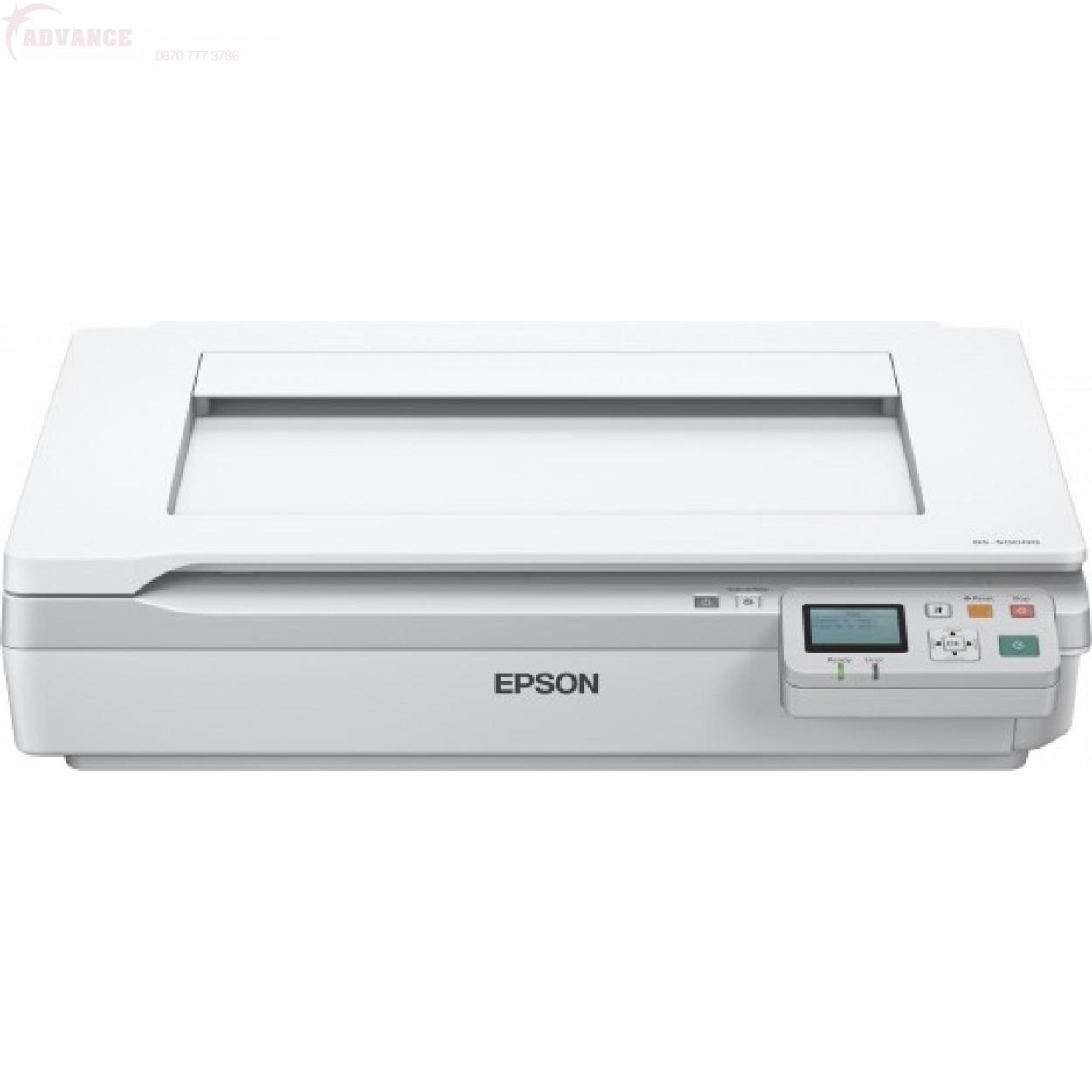 Сканер планшетный А3 Epson WorkForce DS-50000N (B11B204131BT)