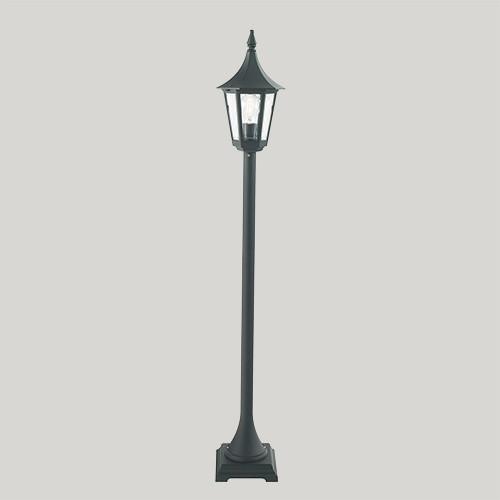Уличный фонарь Norlys Rimini 404В 1х46Вт E27 черный/металл