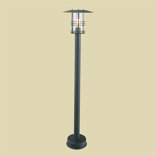 Уличный фонарь Norlys Stockholm 285B 1х46Вт E27 черный/металл