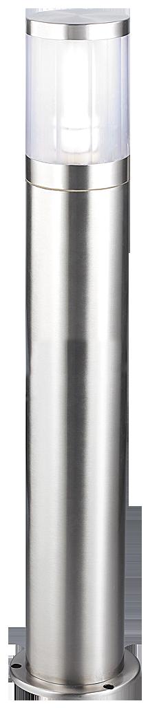 Уличный фонарь Rabalux Atlanta 8168 1х60Вт Е27 белый/металл