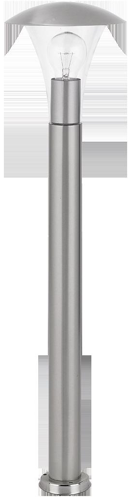 Уличный фонарь Rabalux Helsinki 8313 1х60Вт Е27 серебро/металл