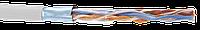 ITK Кабель связи витая пара F/UTP, кат.5E 4x2х24AWG solid, PVC, 305м, серый