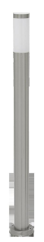 Уличный фонарь Rabalux Inox torch 8265 1х60Вт Е27 белый/металл