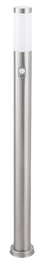 Уличный фонарь Rabalux Inox torch 8268 1х60Вт Е27 серебро/металл