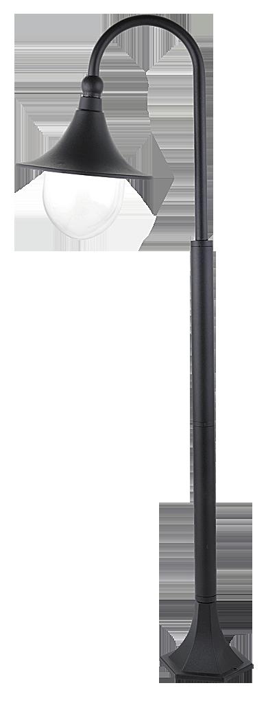 Уличный фонарь Rabalux Konstanz 8247 1х100Вт Е27 черный/металл