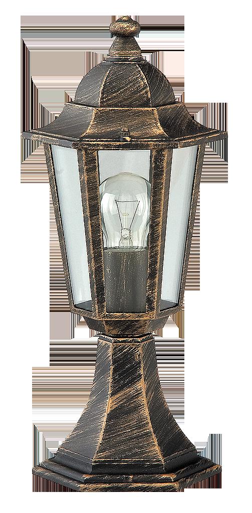 Уличный фонарь Rabalux Velence 8236 1х60Вт Е27 золото/металл