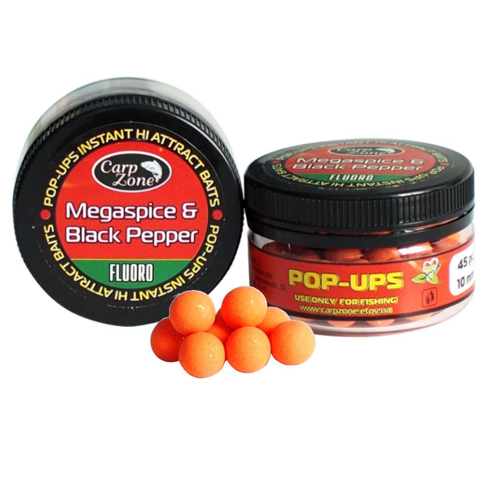Поп Ап Pop-Ups Megaspice & Black Pepper (Мегаспеций и черный перец)  14mm/20pc