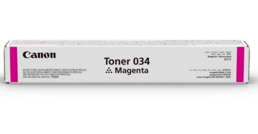 Тонер Canon C-EXV034 для iRC1225, Magenta (9452B001)