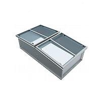 Зенитный фонарь двустворчатый  L-K-02-A*B-P-0*0-0-SL1000