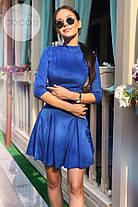 Молодежное женское платье Вишня. (2 цвета) Р-ры:42-46. (111)08270.   , фото 3