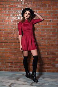 Молодежное женское платье Вишня. (2 цвета) Р-ры:42-46. (111)08270.