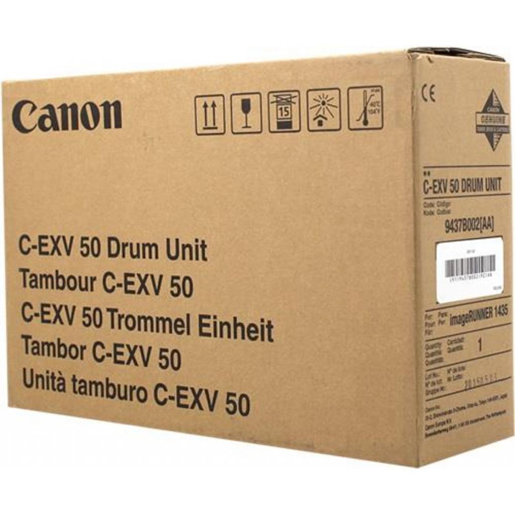 Фотобарабан Canon Drum Unit C-EXV50 для iR1436, Black (9437B002)