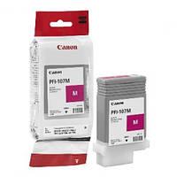 Картридж Canon PFI-107M для iPF670/770 Magenta, 130 мл (6707B001)