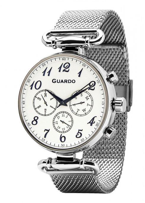 Чоловічі наручні годинники Guardo P11221(m) SW
