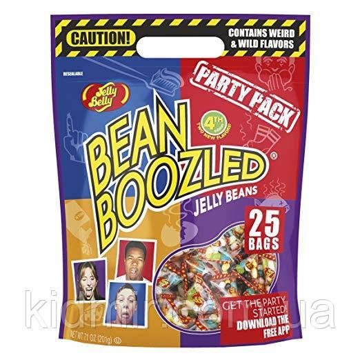 Конфеты Джелли Белли Гадкие Бобы Гарри Поттера Пати Упаковка 4серия 200 грм Bean Boozled Jelly Belly