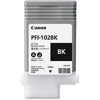 Картридж Canon PFI-102Bk для iPF500/600/700 Black, 130 мл (0895B001)