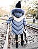 Детская куртка 110-160, серый, фото 6