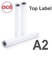 Бумага Oсe Тор Label 75 г/м2, А2 (0,420х175 м) (7707B026)