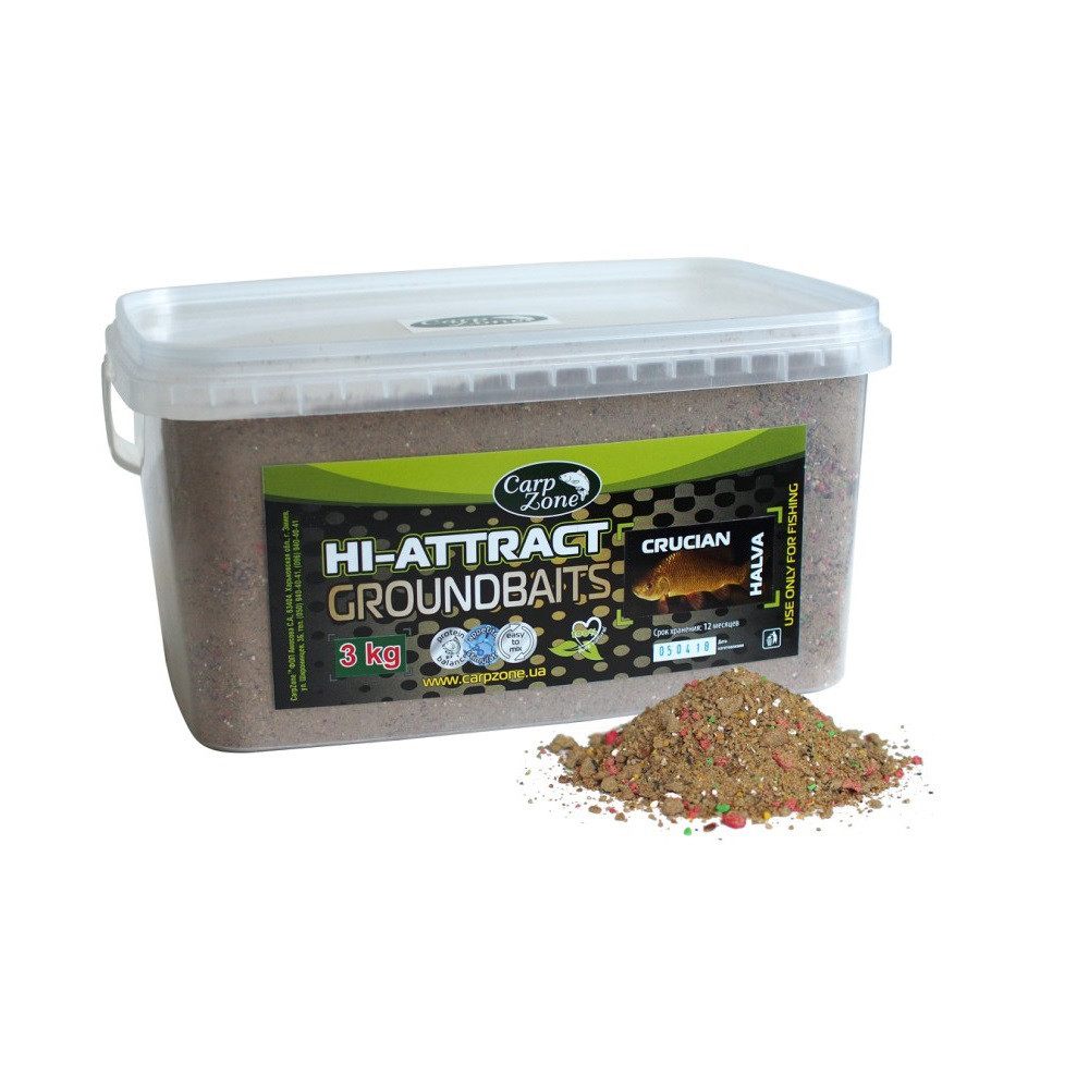 Прикормка Hi-Attractant Groundbait Карась (Халва) 3 кг
