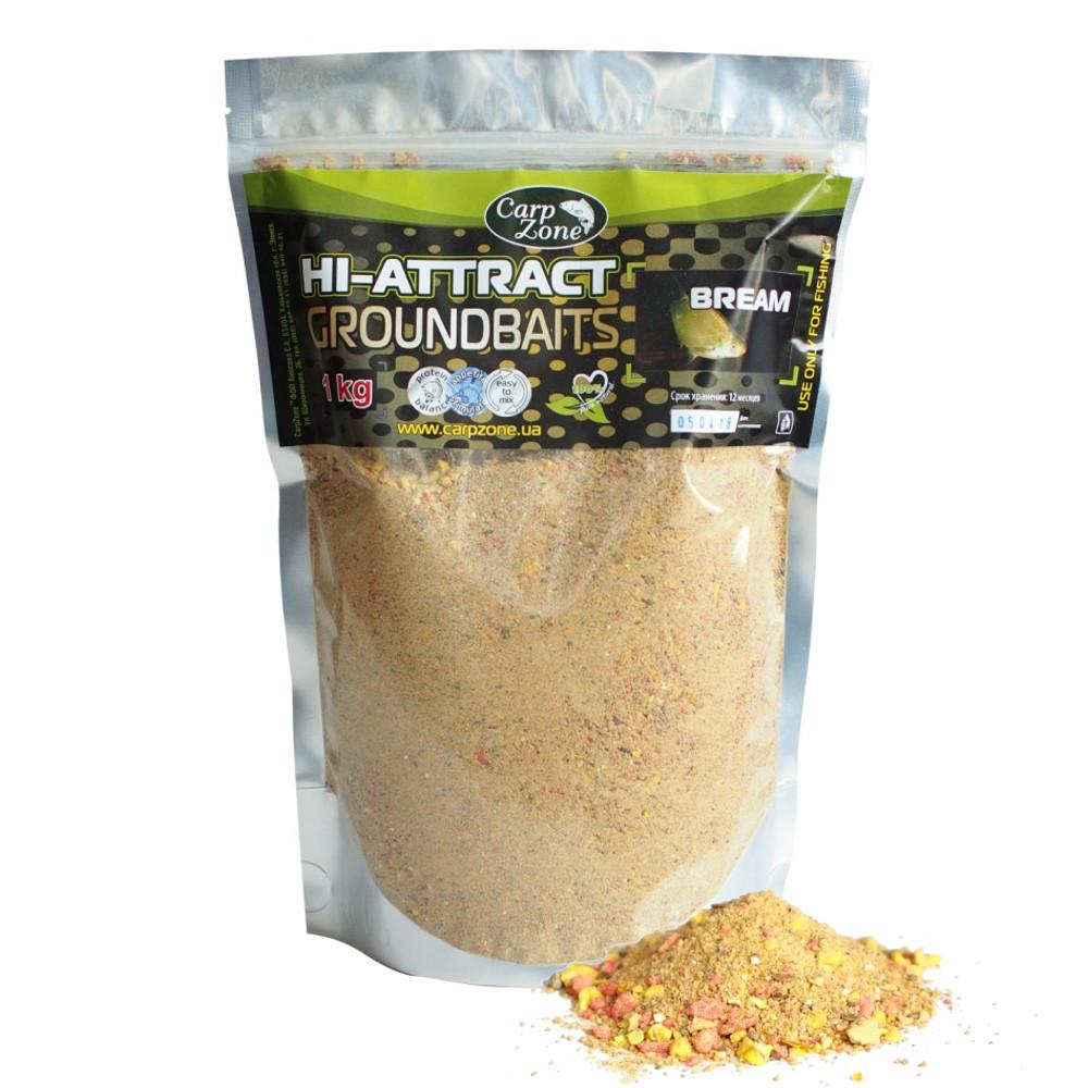 Прикормка Hi-Attractant Groundbait Bream (Лещ) 1 кг
