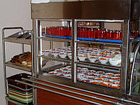 Витрина для салатов охлаждаемая 1200/700/1800 мм, фото 1
