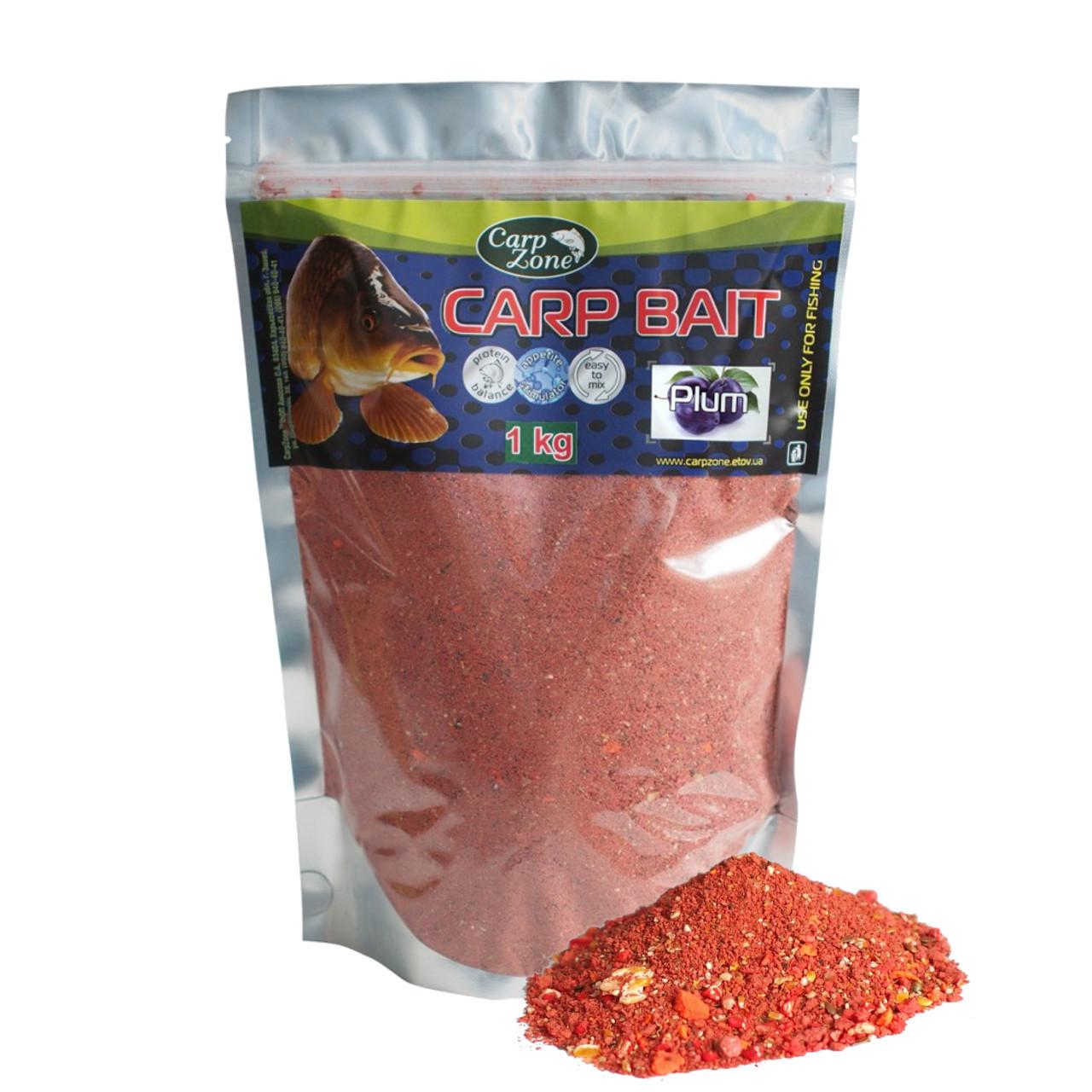 Прикормка Carp Bait Plum (Слива) 1 кг