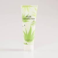 Успокаивающая пенка для умывания с алоэ SeaNtree Aloe 100 Cleansing Foam - 120 мл