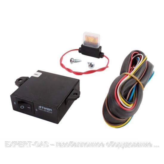 Переключатель Atiker 3010  газ-бензин LPG (инжектор) 20 kOhm
