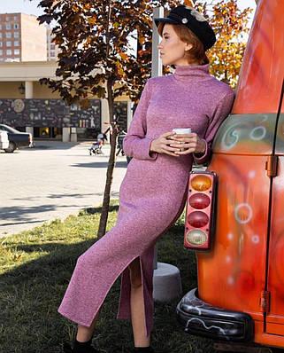 Женское платье-гольф с кашемира