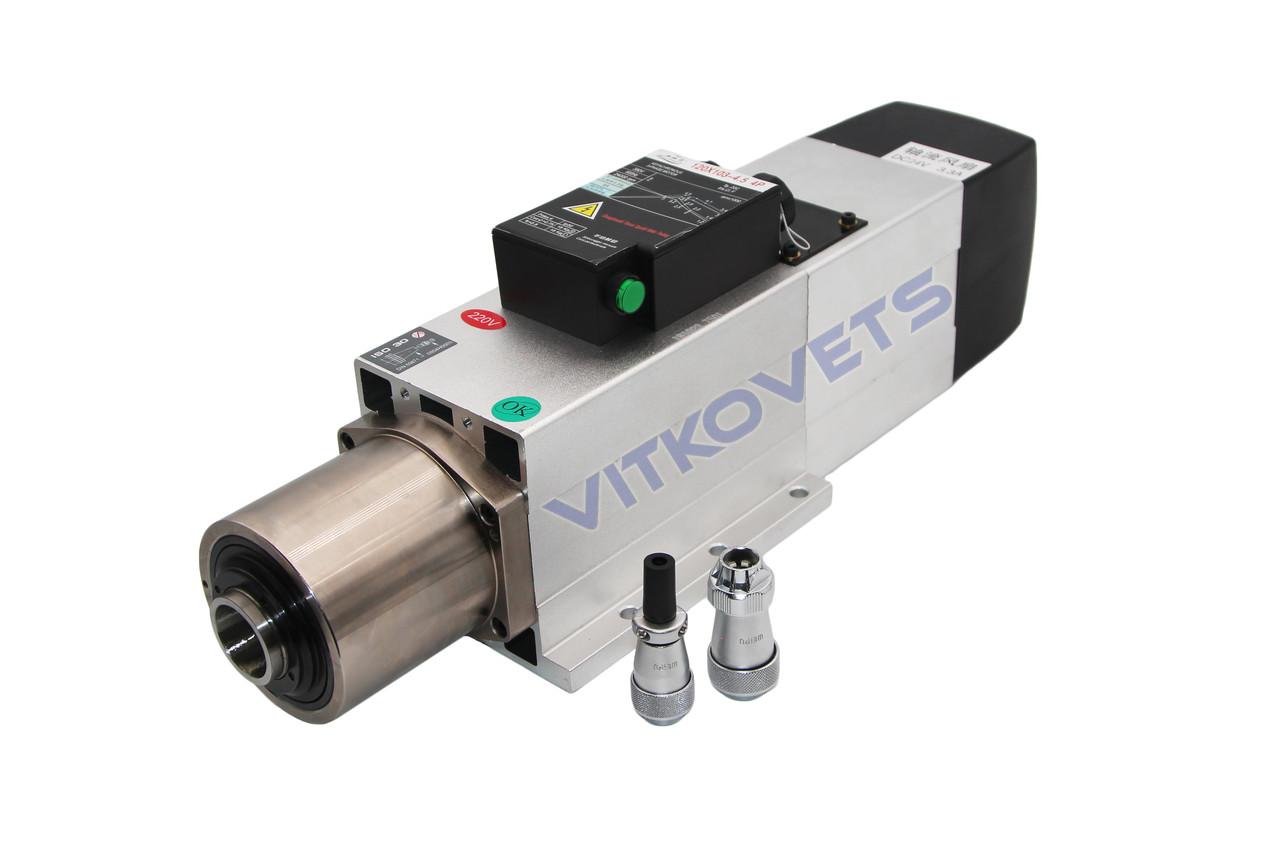 Шпиндель (с фланцем) GDZ120X103-4.5 4P с автоматической сменой инструмента (воздушное охлаждение) 4.5KW , фото 1