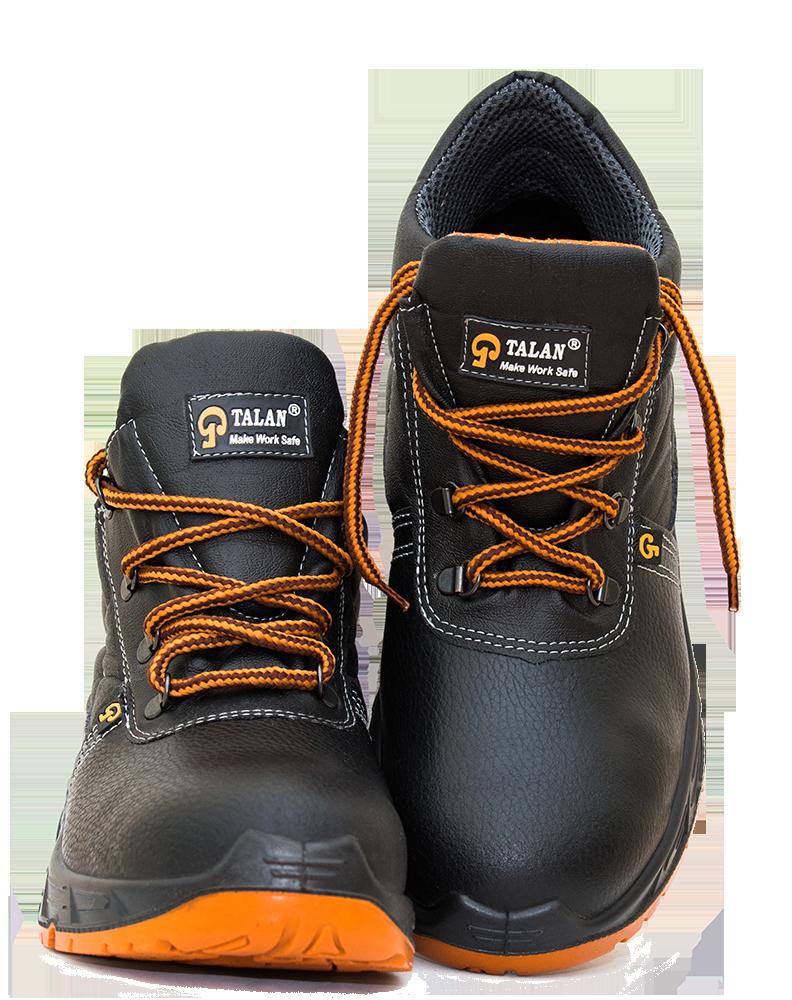 Черевики робочі з нат шкіри з металоноском і металопластиноюSE/2M112  S1P SRC (ботинки рабочие с металоноском)