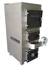 Твердотопливный котел на дровах 80 кВт DM-STELLA (двухконтурный), фото 2