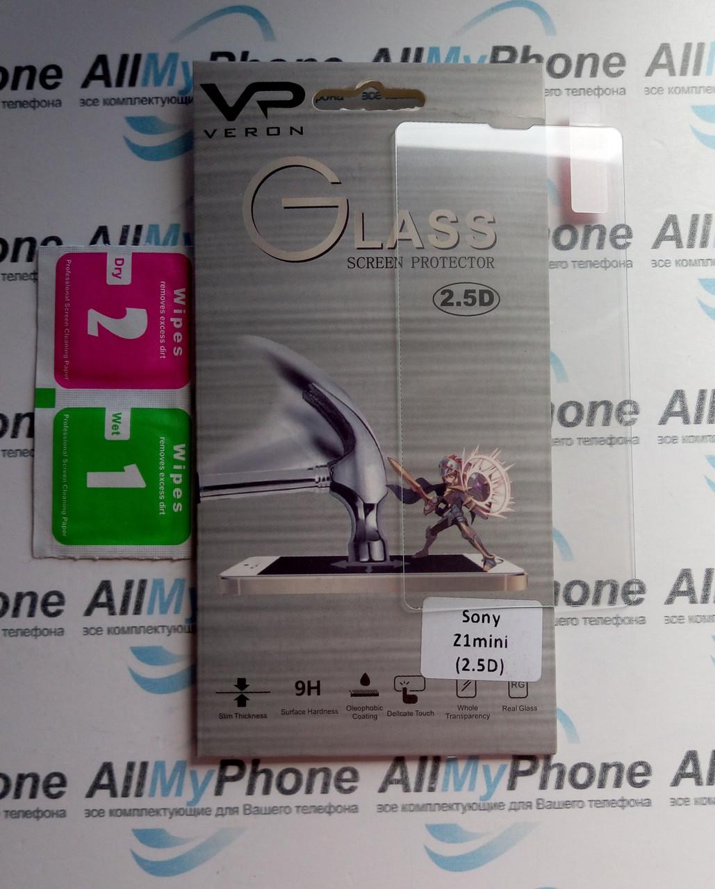 Закаленное стекло для Sony Z1 mini