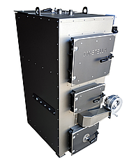 Твердотопливный котел на дровах 100 кВт DM-STELLA (двухконтурный), фото 2