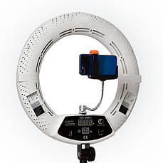 Кольцевая лампа с цифровым дисплеем