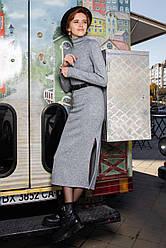 Женское платье-гольф ниже колена с распоркой 42, 44, 46, 48