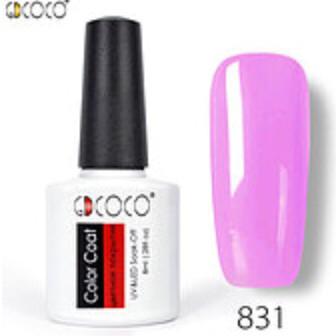 Гель-лак GDCOCO 8 мл, №831 (сиренево-розовый)
