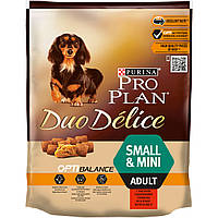 Purina Pro Plan Small & Mini DUO DELICE - корм для собак малых пород (говядина)