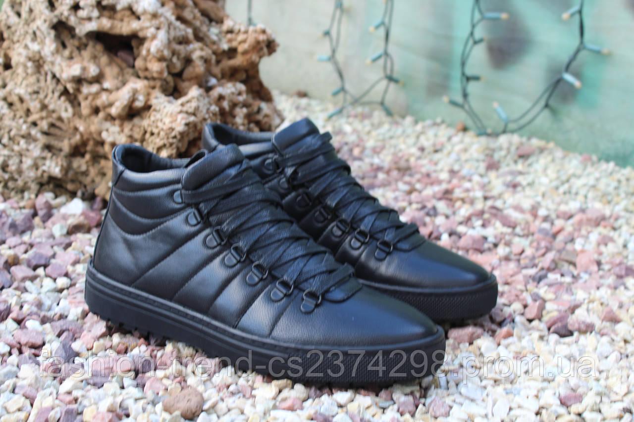 Стильные мужские демисезонные ботинки термо , фото 1