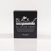 Многофункциональный крем для лица с фильтратом черной улитки Mizon Black Snail All in One Cream 75 мл (8809587520671), фото 2