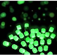 Гирлянда на 500 LED зеленый цвет